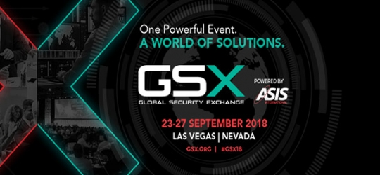 GSX Global Security Exchange logo for Las Vegas show