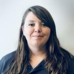 Portrait of Jessica Frye, Warehouse Lead