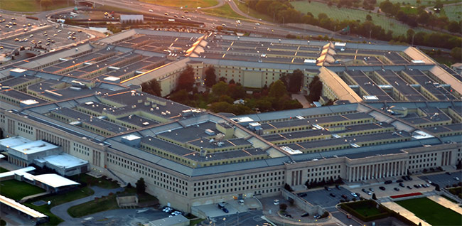 Department of Defense Pentagon in Washington DC
