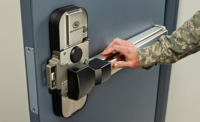 Sargeant and Greenleaf GSA approved door release for SCIF facilities